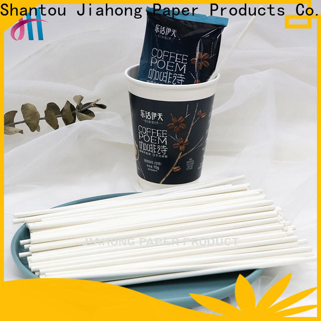 safe coffee stirer paper from manufacturer for packed coffee