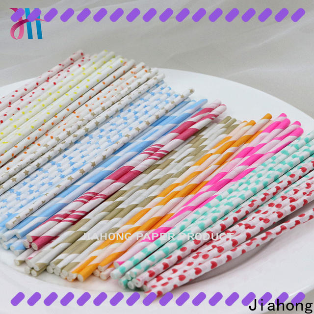 Jiahong white wholesale lollipop sticks in different colors for lollipop