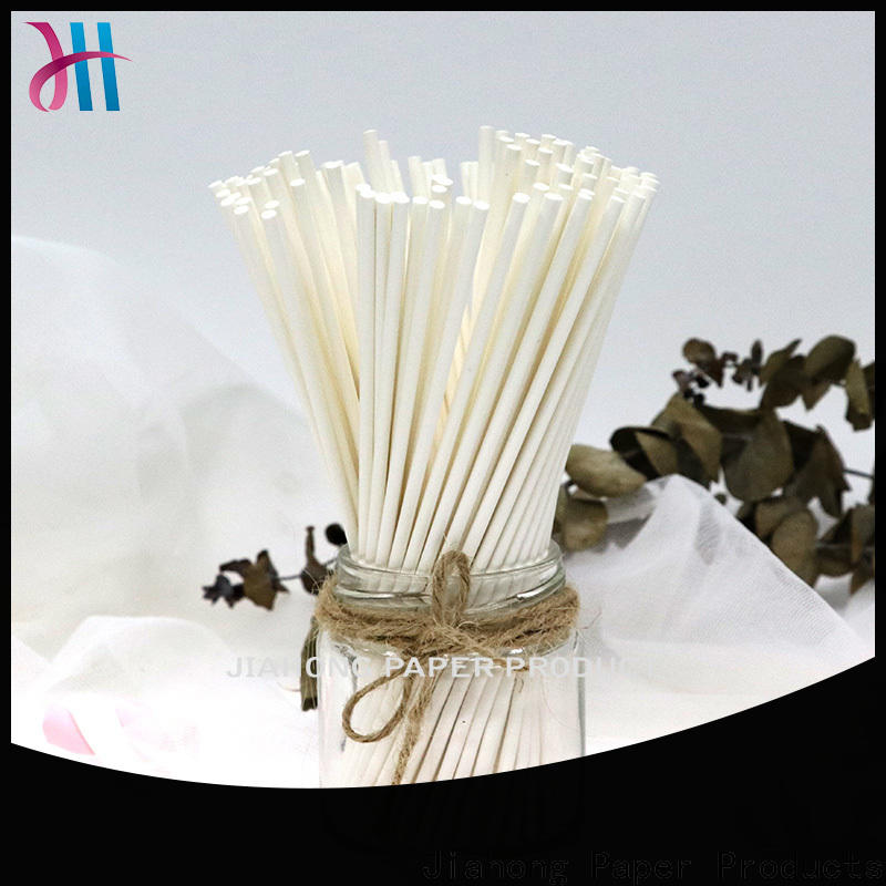 Jiahong white white lollipop sticks factory price for lollipop