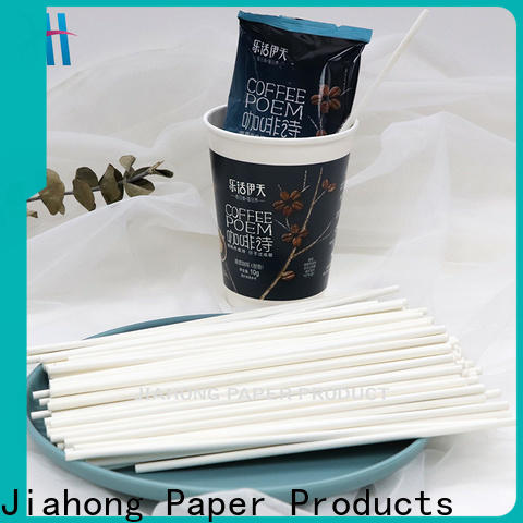 Jiahong grade paper coffee stirring stick order now for restaurant