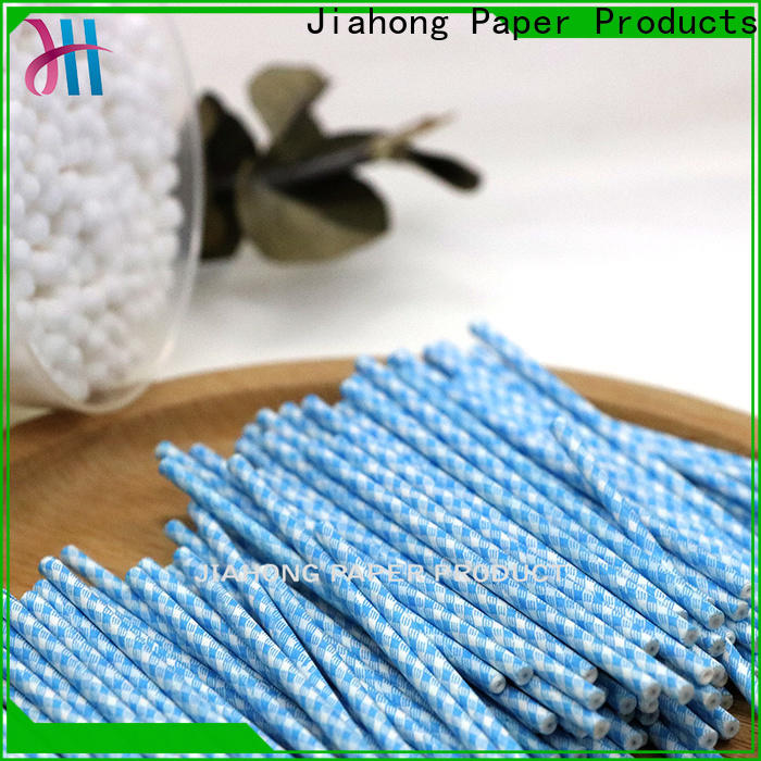 Jiahong inexpensive cotton swab paper stick overseas for hospital