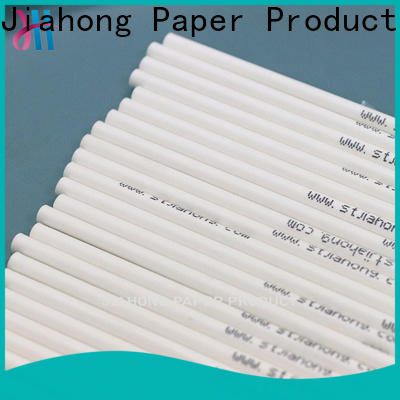 Jiahong white paper lolly sticks for lollipop