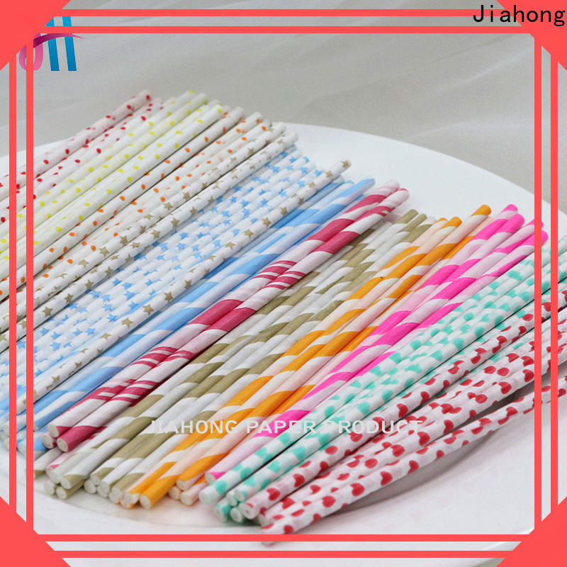 Jiahong safe paper lolly sticks for lollipop