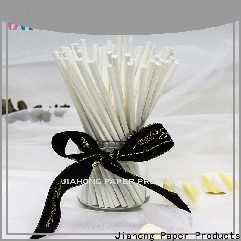 Jiahong hot-sale lollipop paper stick vendor for lollipop