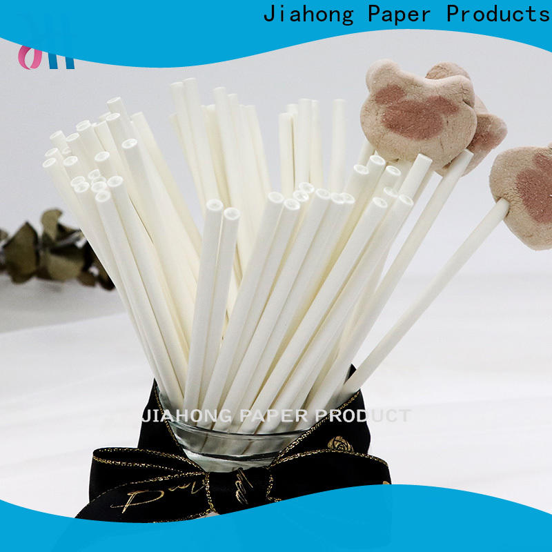Jiahong safe paper lolly sticks markting for lollipop