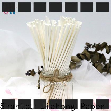 Jiahong environmental coloured lollipop sticks for wholesale for lollipop