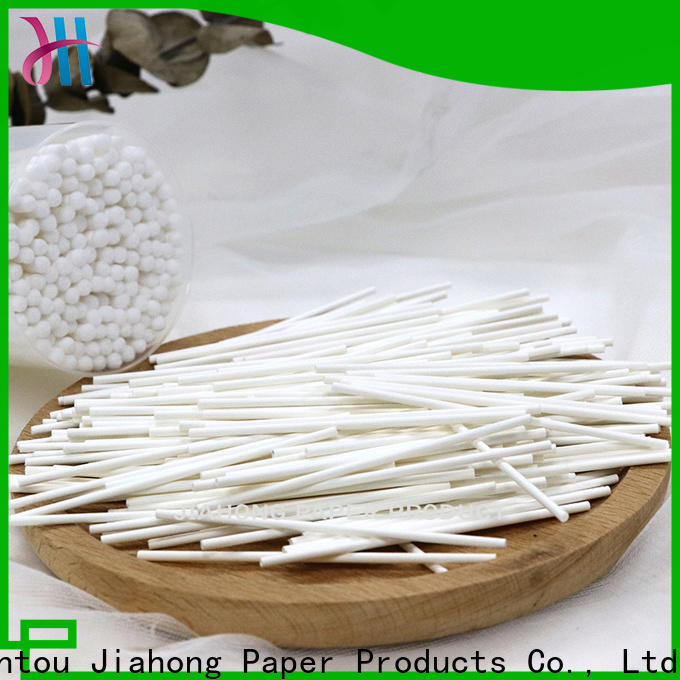 Jiahong commercial cotton swab paper stick supplier for medical cotton swabs