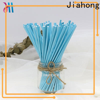 Jiahong widely used large lollipop sticks overseas market for lollipop