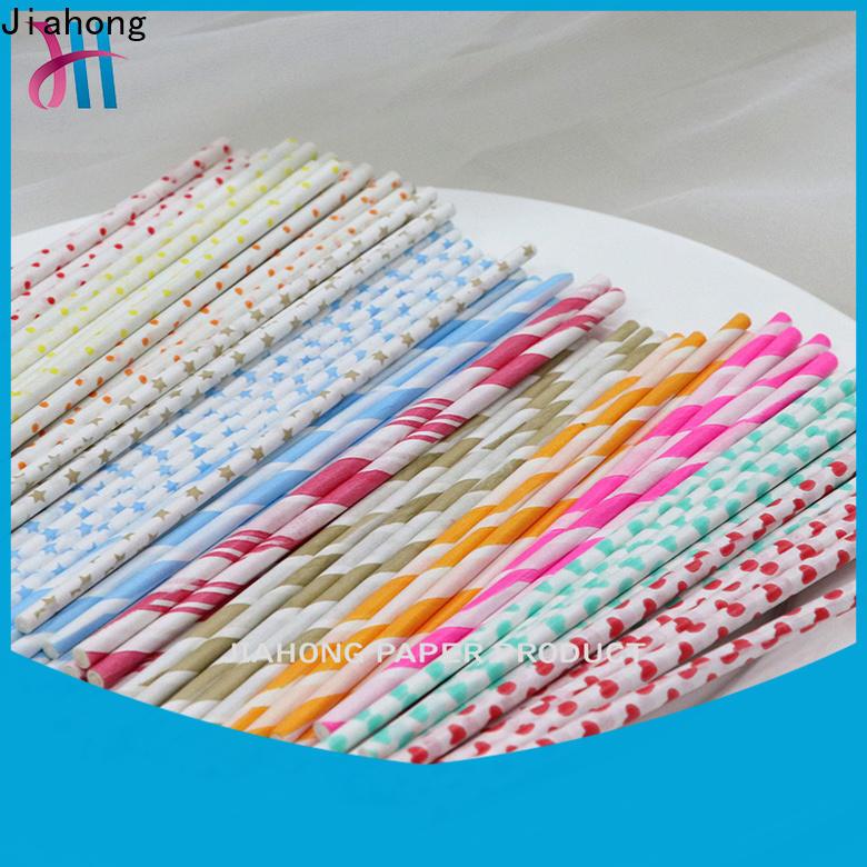 Jiahong clean custom lollipop sticks overseas market for lollipop