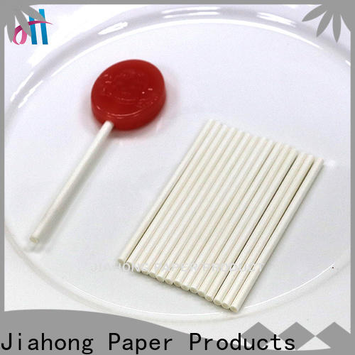 Jiahong widely used coloured lollipop sticks types for lollipop