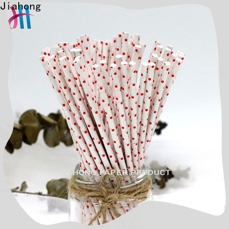 Jiahong safe large lollipop sticks overseas market for lollipop