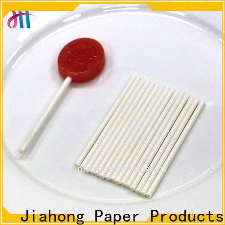 Jiahong code lollipop paper stick for lollipop