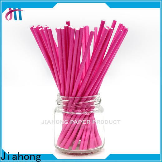 Jiahong widely used blue lollipop sticks types for lollipop