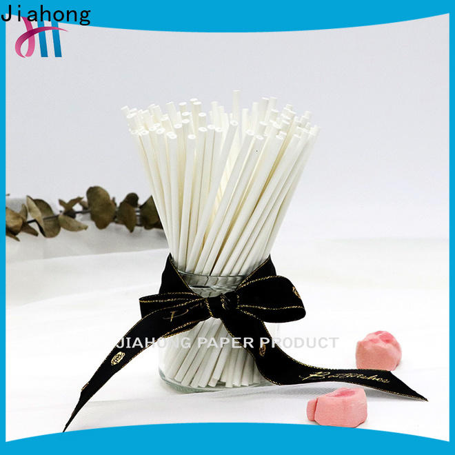 Jiahong environmental friendly paper coffee stirring stick vendor for cafe