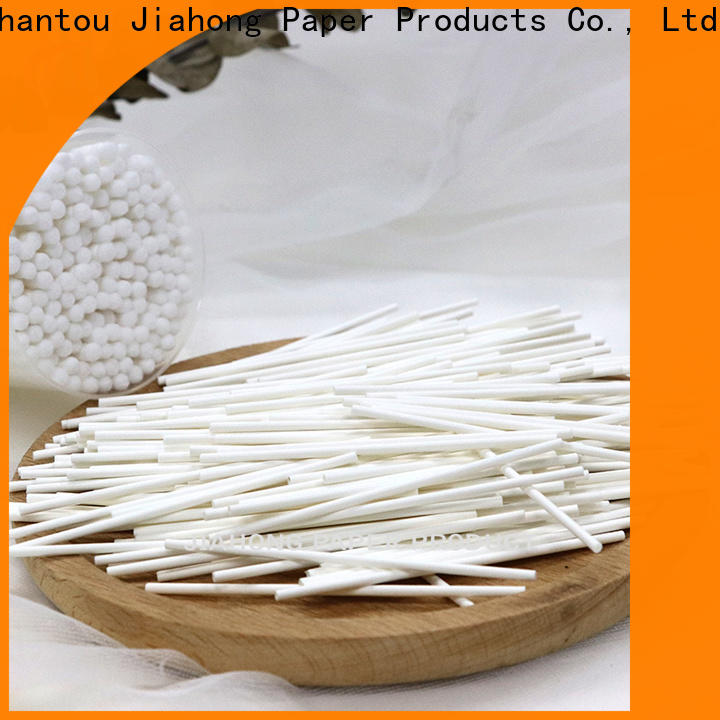 Jiahong safe cotton swab paper stick producer for medical cotton swabs