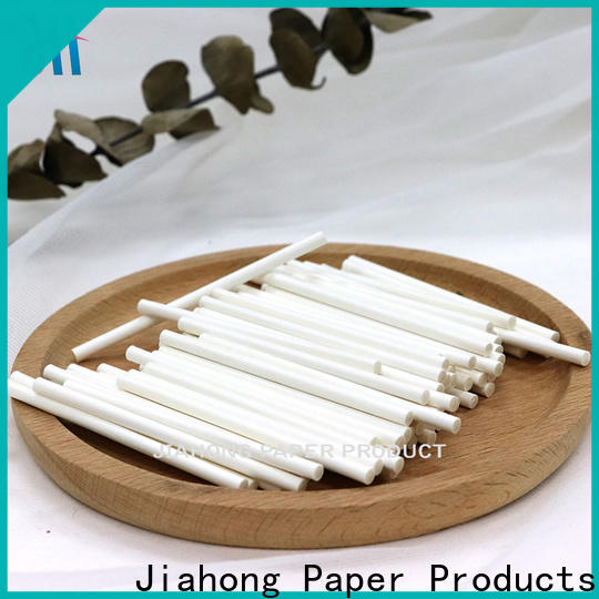 Jiahong eco friendly paper sticks craft export for flag flagpoles