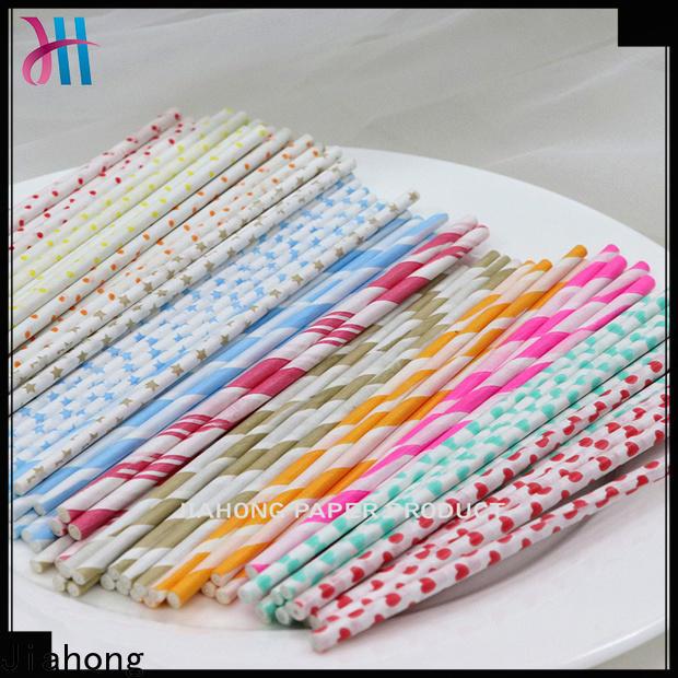 hot-sale wholesale lollipop sticks striped for lollipop
