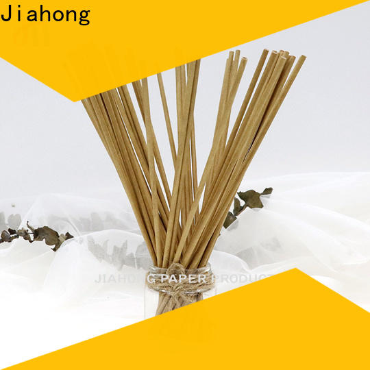 Jiahong natural hand fan sticks from manufacturer for medical cotton swabs