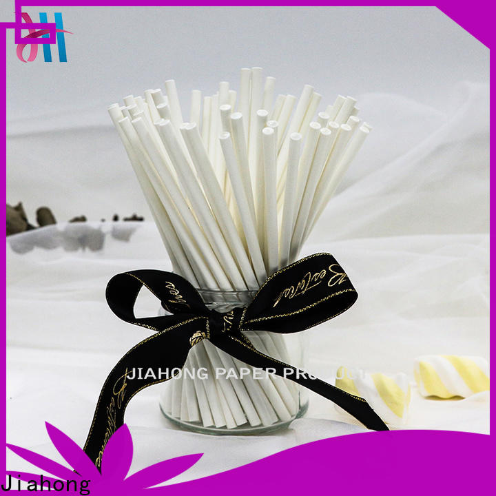 Jiahong sale coloured lollipop sticks grab now for lollipop