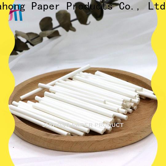 Jiahong 3572mm paper sticks craft supplier for medical cotton swabs