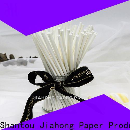 Jiahong new-arrival colored lollipop sticks types for lollipop