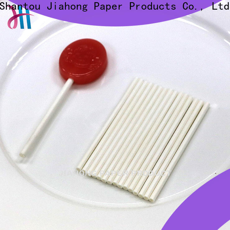 Jiahong professional colored lollipop sticks grab now for lollipop