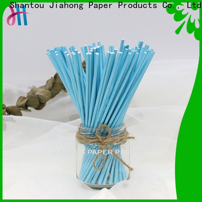 Jiahong widely used long lollipop sticks factory price for lollipop