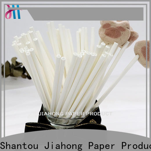 Jiahong colorful paper lolly sticks for lollipop