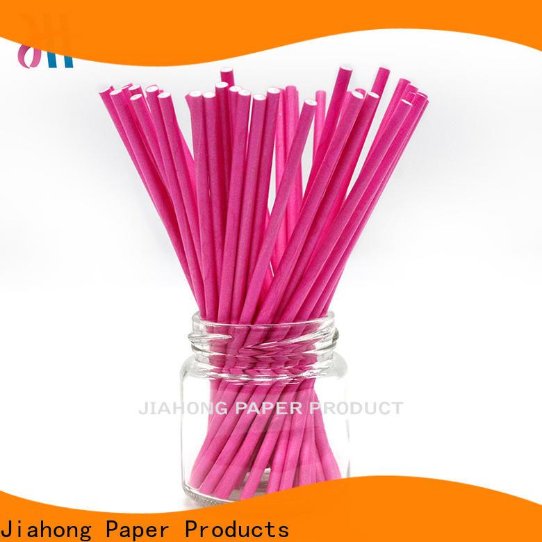 Jiahong bar blue lollipop sticks factory price for lollipop