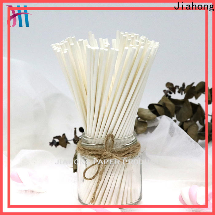 Jiahong fashion design white lollipop sticks shop now for lollipop