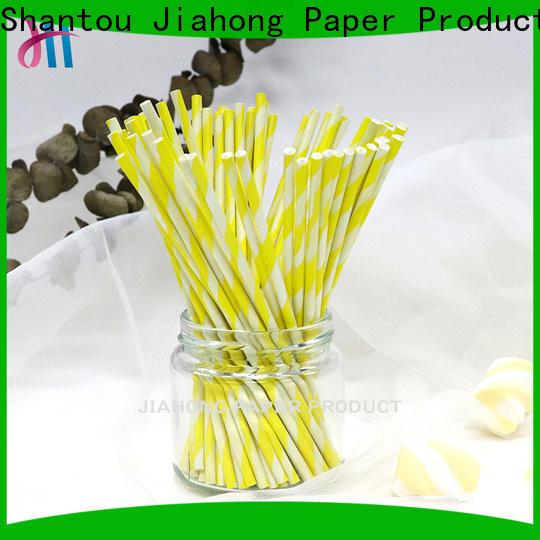 Jiahong hot-sale large lollipop sticks markting for lollipop