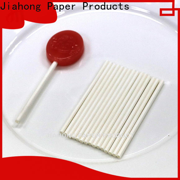 Jiahong widely used lollipop sticks bulk markting for lollipop