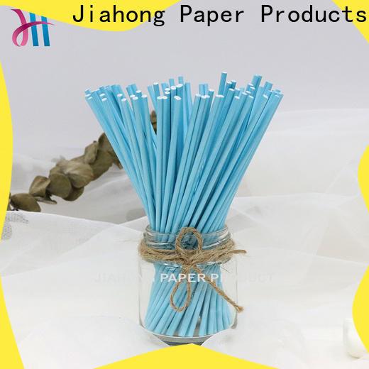 Jiahong printed blue lollipop sticks for lollipop