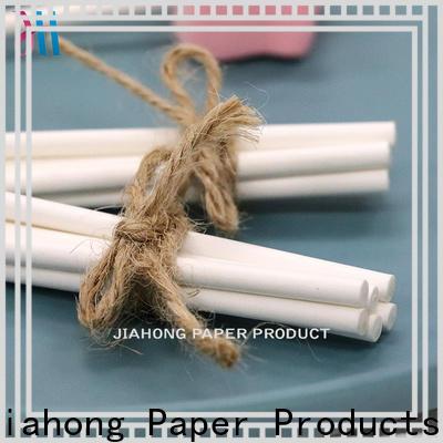 Jiahong printting colored lollipop sticks types for lollipop