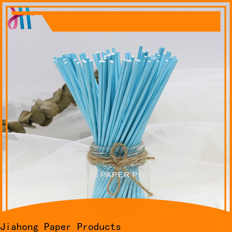 Jiahong paper stick lollipop overseas market for lollipop