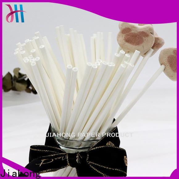 eco friendly white lollipop sticks paper vendor for lollipop