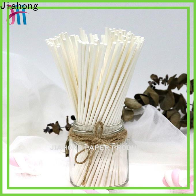 Jiahong sticks lollipop paper stick factory price for lollipop