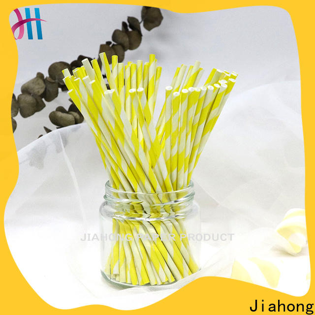 Jiahong professional blue lollipop sticks for lollipop