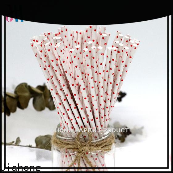 Jiahong bar custom lollipop sticks for lollipop