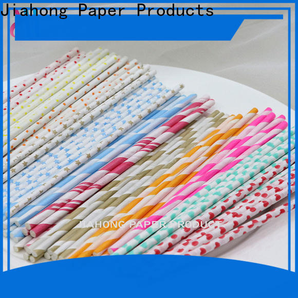 Jiahong safe long lollipop sticks in different colors for lollipop