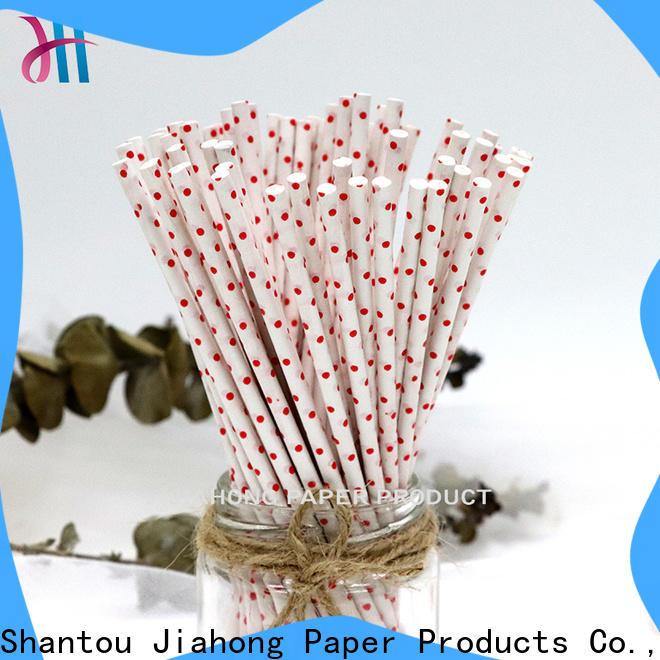 Jiahong extra coloured lollipop sticks for lollipop