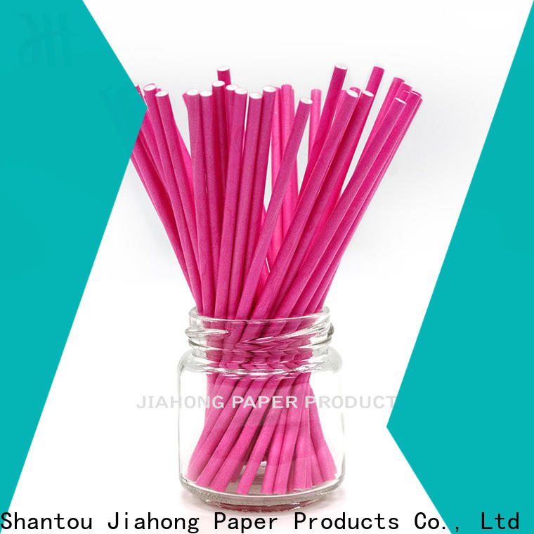 Jiahong candy custom lollipop sticks for lollipop