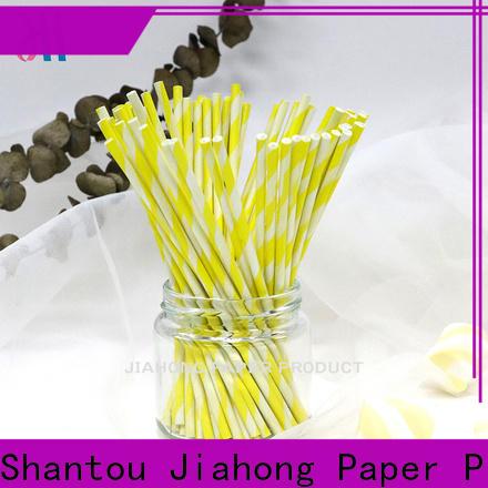 Jiahong long white lollipop sticks factory price for lollipop