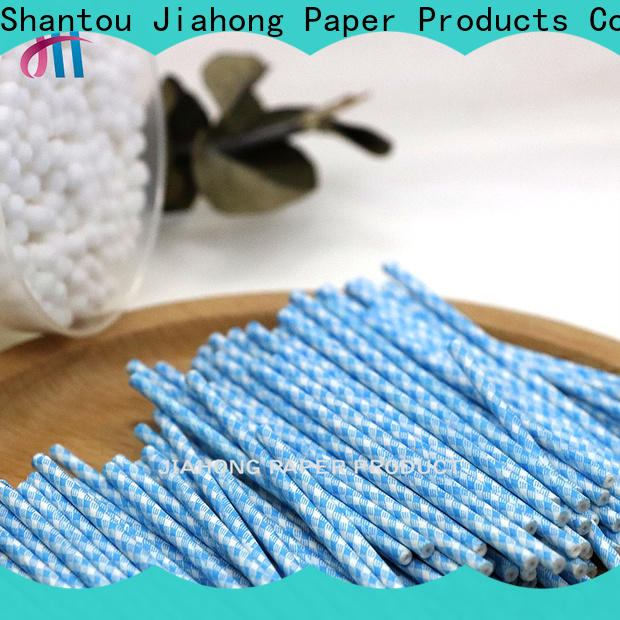 Jiahong swabs cotton bud sticks export for medical