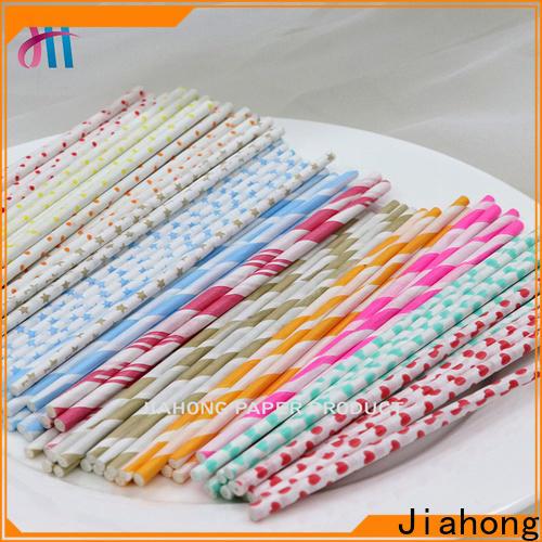 Jiahong fashion design long lollipop sticks factory price for lollipop