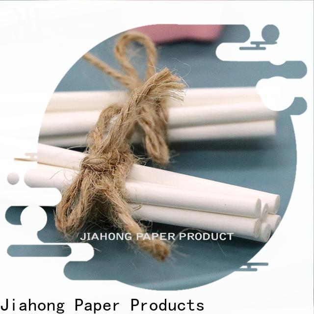 Jiahong certificated lollipop paper stick types for lollipop