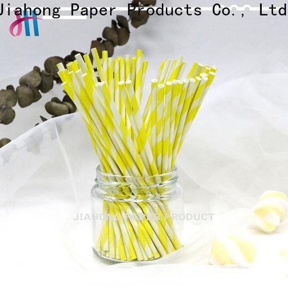 Jiahong lolly personalized lollipop stickers overseas market for lollipop