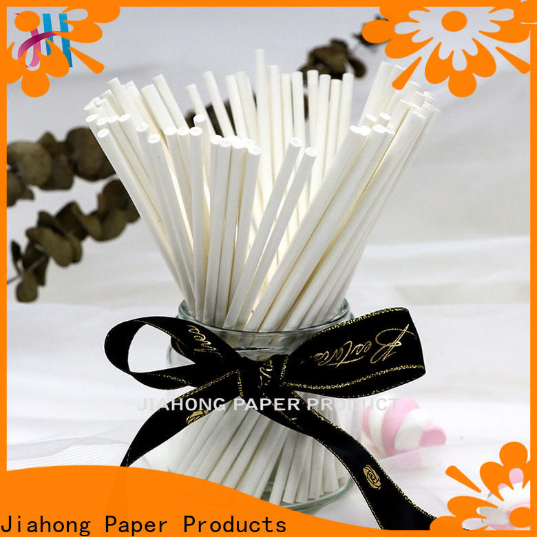 Jiahong natural hand fan sticks supplier for flag flagpoles