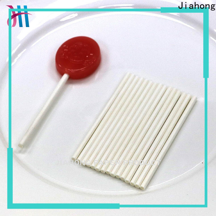 Jiahong safe coloured lollipop sticks for lollipop