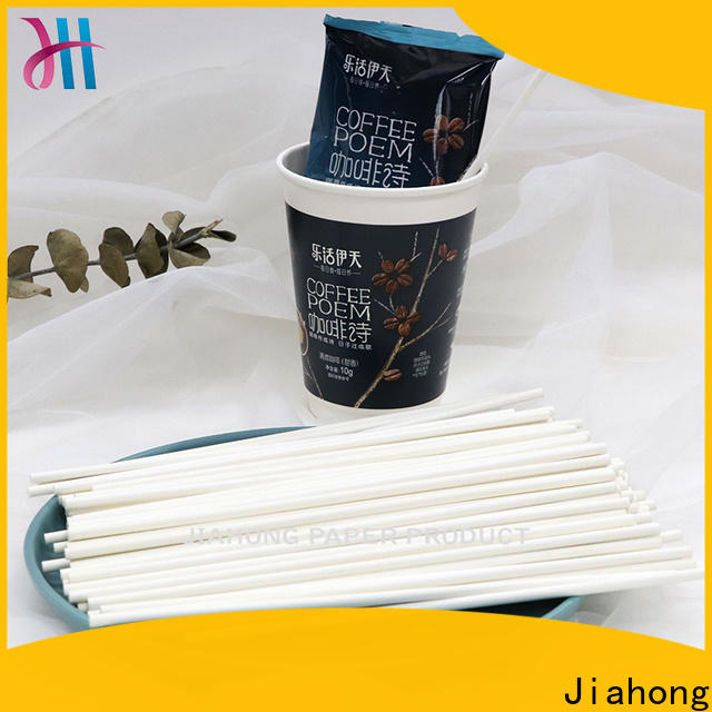 durable coffee stirer stick vendor for cafe